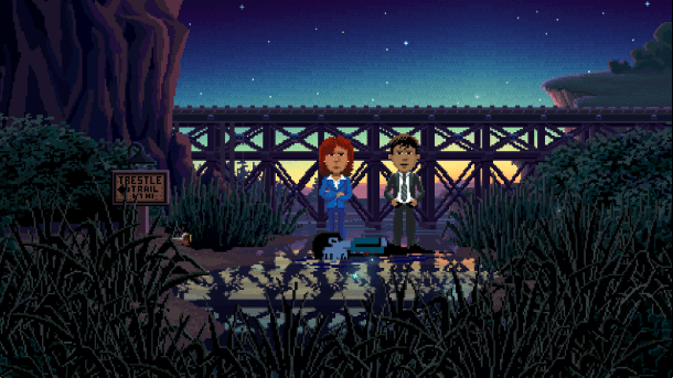 Thimbleweed Park | Ray and Reyes