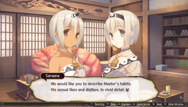 Utawarerumono: Mask of Deception I Uruuru & Saraana