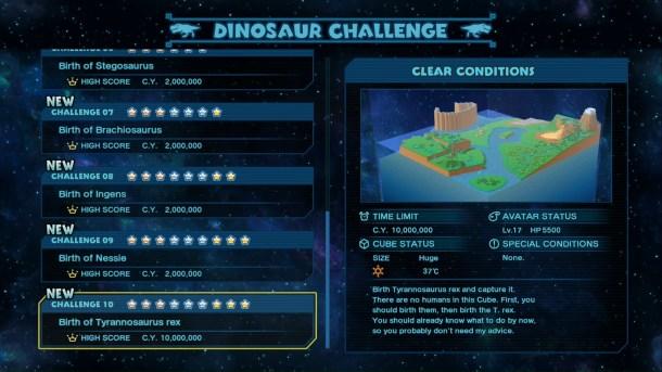 Birthdays the Beginning | Dinosaur Challenge