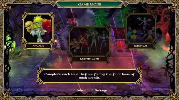 Demon's Crystals | Modes