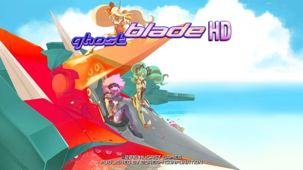 Ghost Blade HD | Title screen