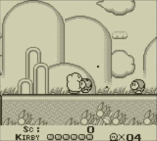 Kirby's Dream Land | Inhale