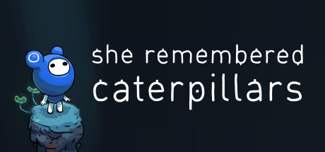 She remembered caterpillars | Logo