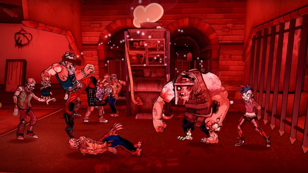 Bloody Zombies   Fighting in another part of the game.