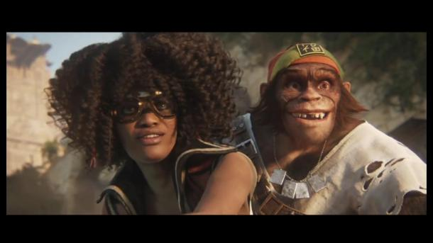 Beyond Good and Evil | Protagonist Duo