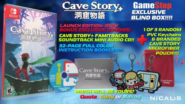 Cave Story+ | Physical swag
