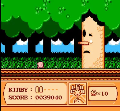 Kirby's Adventure | Whispy Woods