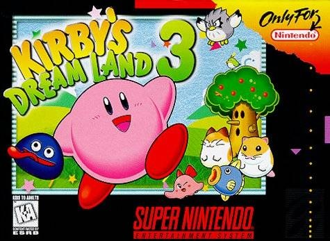 Kirby's Dream Land 3 | boxart