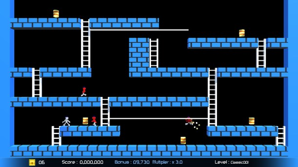 Lode Runner: Legacy | Classic Mode.
