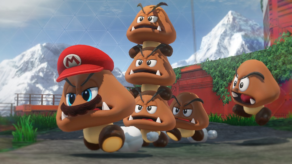 Super Mario Odyssey | Mario Possesses a Goomba