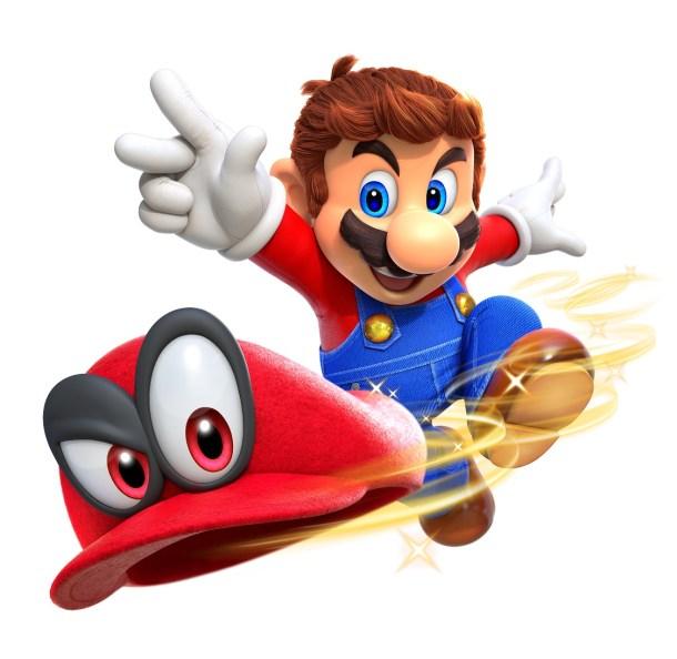 Super Mario Odyssey | Mario Throwing Hat