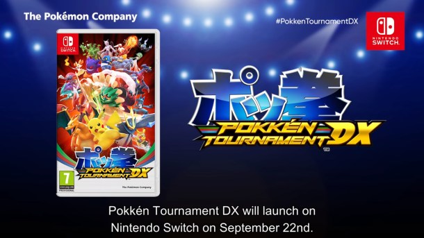 Pokkén Tournament DX | Boxart