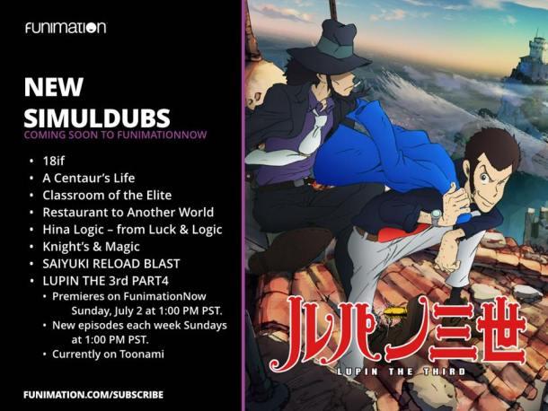 Funimation | new Simuldubs