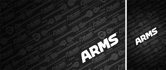ARMS | black wallpaper