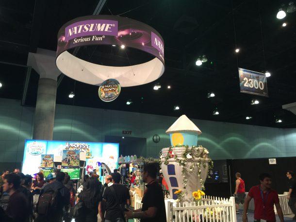 Natsume E3 | Natsume's E3 booth.