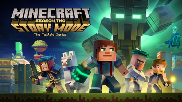Minecraft: Story Mode - Season 2 | Logo
