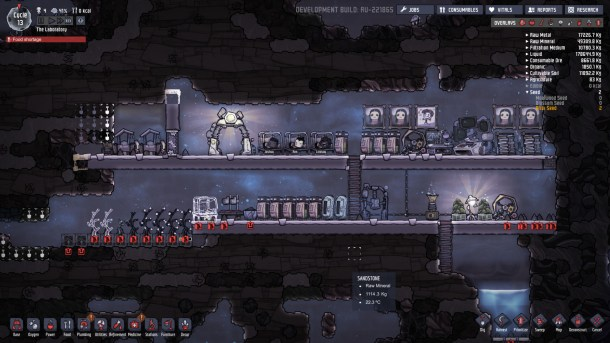 Oxygen Not Included | A growing base.