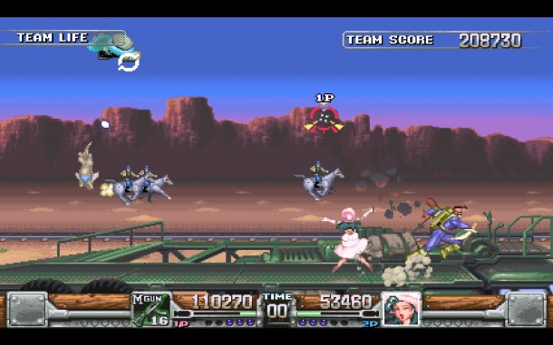 Natsume | Wild Guns Reloaded for PC.