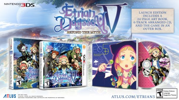 Etrian Odyssey V: Beyond the Myth | Limited Launch Edition