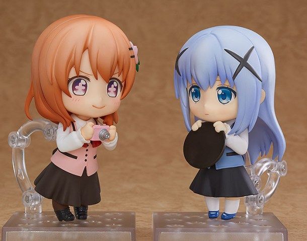 GochiUsa | Cocoa and Chino Nendoroids