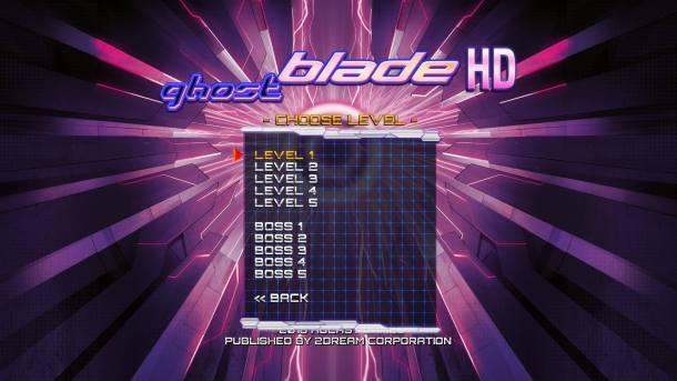 Ghost Blade HD | Training Mode