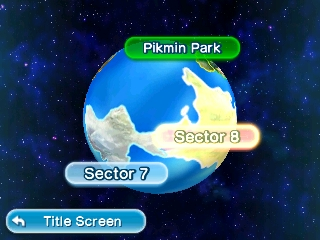 Hey! Pikmin | World select