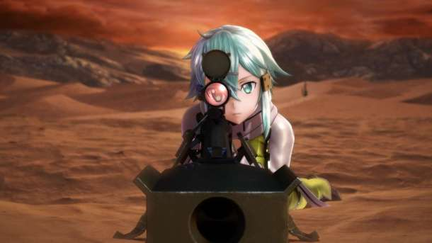 Sword Art Online: Fatal Bullet | Sinon