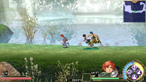 Ys SEVEN | Adol and friends