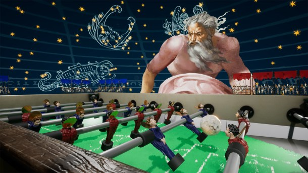 Rock of Ages 2 | Table Football against the heavens
