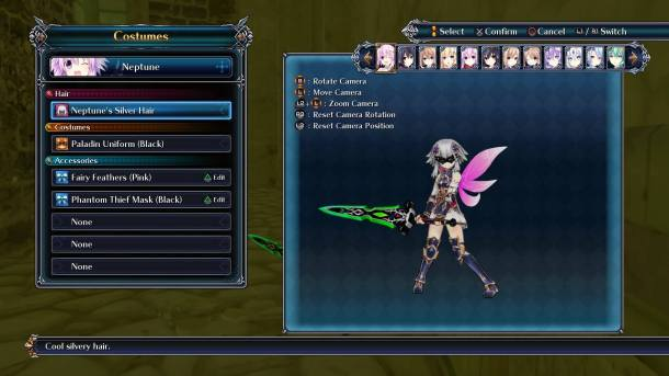 Cyberdimension Neptunia 4 Goddesses | Accessory