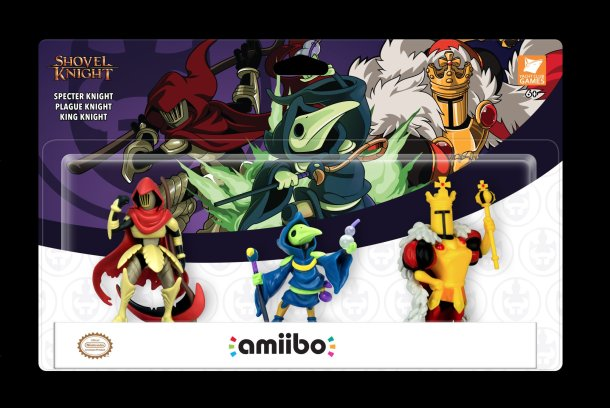Shovel Knight amiibos