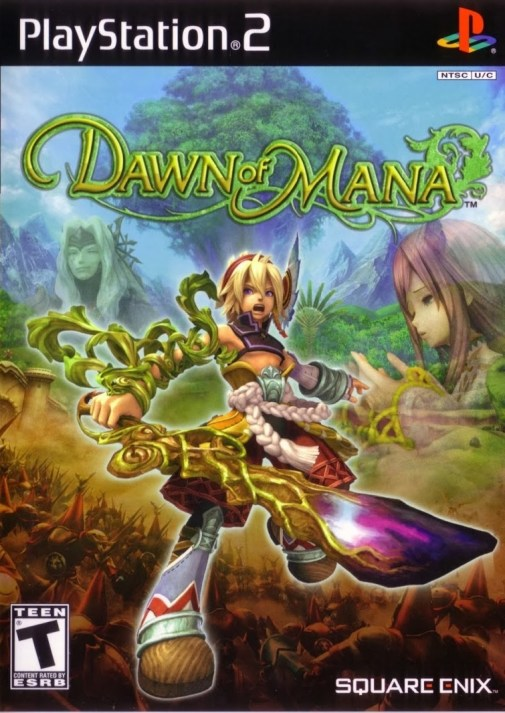 Dawn of Mana   Boxart
