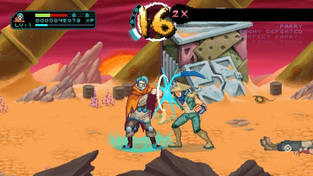 Way of the Passive Fist | Parry