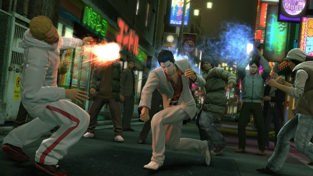 Yakuza Kiwami | Kiryu using his Thug Style
