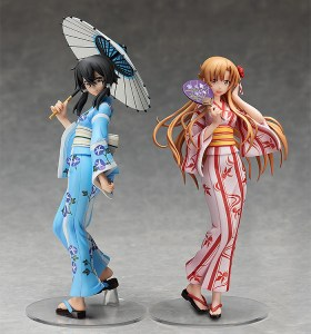 Sword Art Online | Shino Asada and Asuna Yukata Ver.