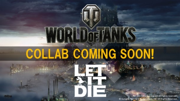 World of Tanks & LET IT DIE Collaboration