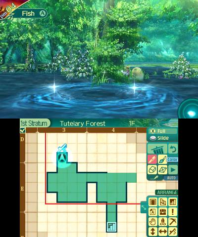 Etrian Odyssey V | Map Drawing