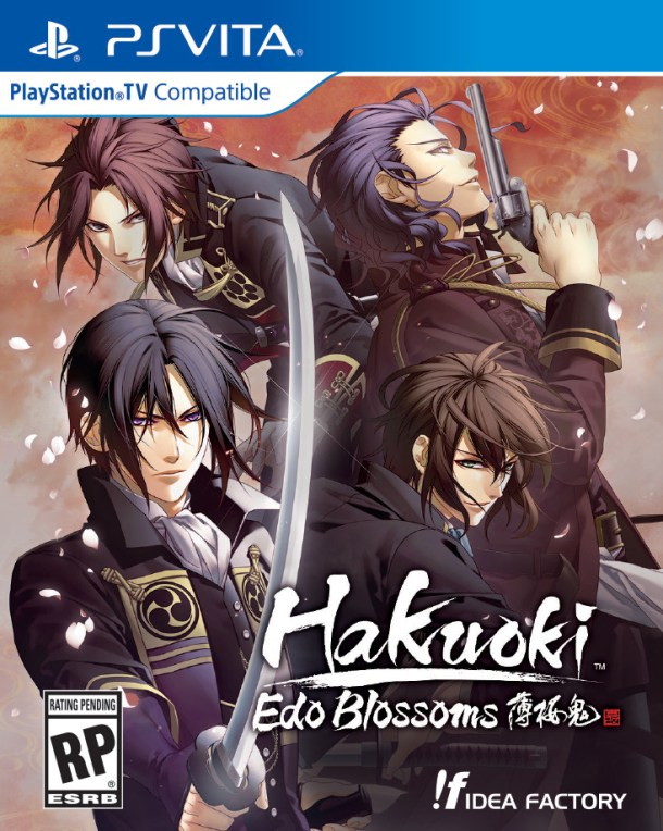 Hakuoki: Edo Blossoms | US Package Art