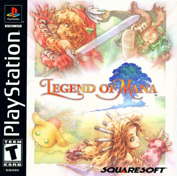 Legend of Mana | boxart