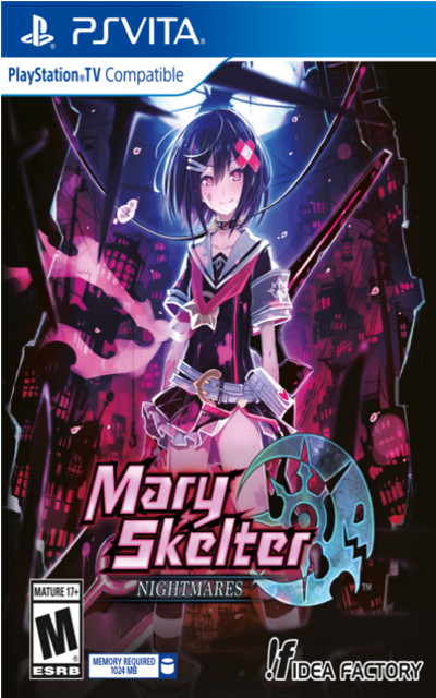 Mary Skelter Nightmares Cover Image