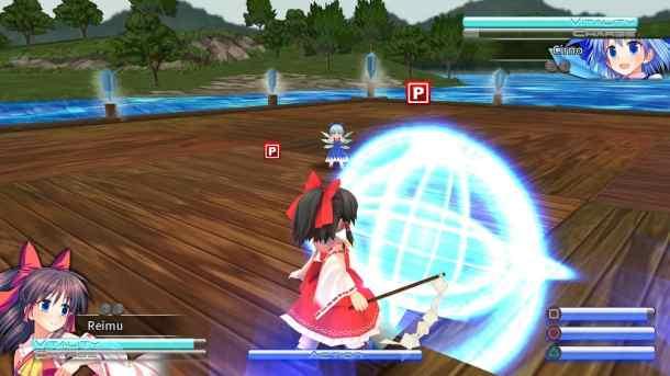 Touhou Kobuto V: Burst Battle | Combat