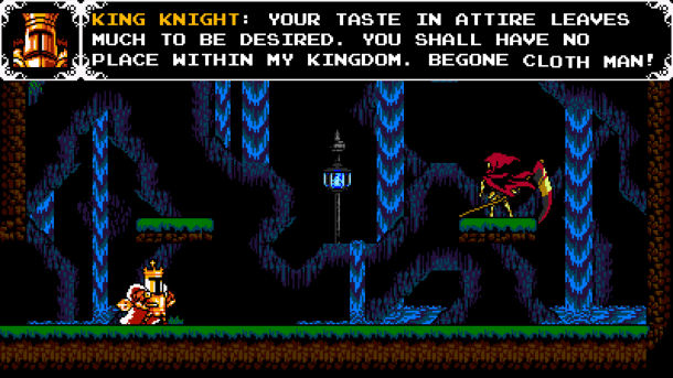 Shovel Knight: King of Cards | Specter Knight fight