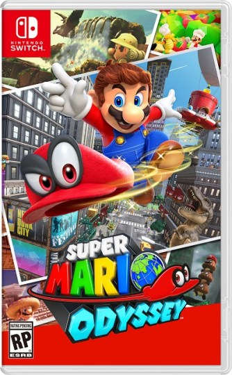 Super Mario Odyssey | Boxart
