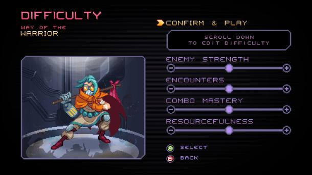 Way of the Passive Fist | Difficulty Setting