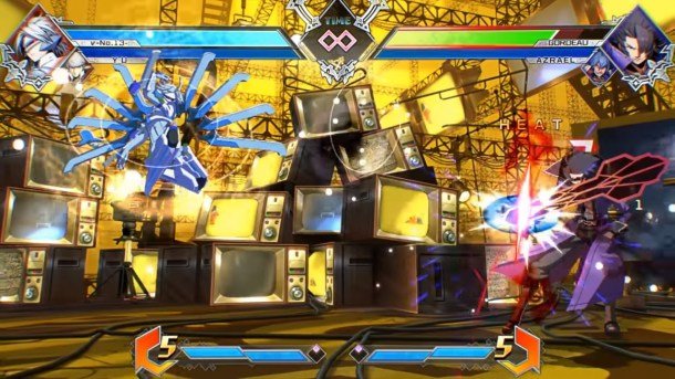 BlazBlue Cross Tag Battle Nu-13 combo