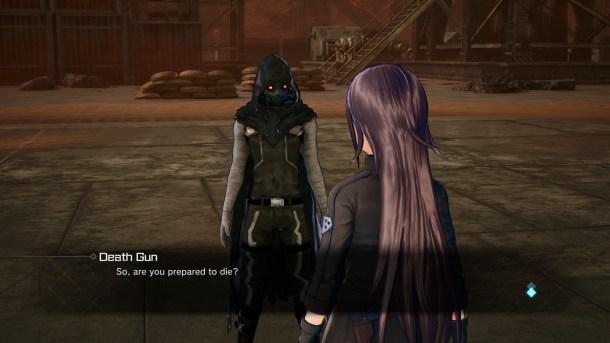 Sword Art Online: Fatal Bullet | Kirito and Sterben Dialog 1