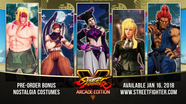 Street FIghter V | Nostalgia Costume