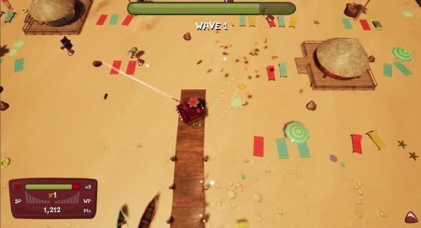 Tanks Meet Zombies | Beach Stage