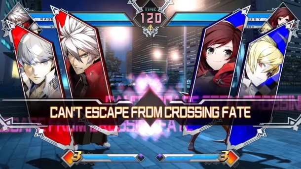 BlazBlue Cross Tag Battle fight intro