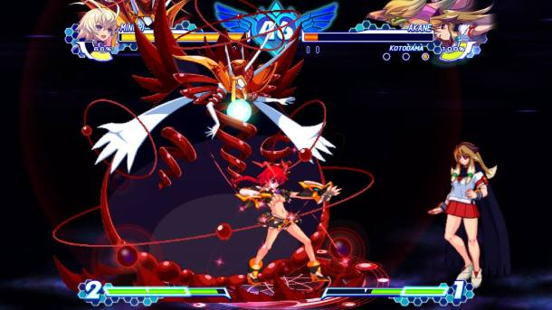 Arcana Heart 3 Love Max Six Stars!!!!!! | Blood
